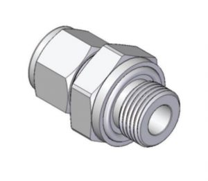 UMOS - O-Seal Straight Thread Connector